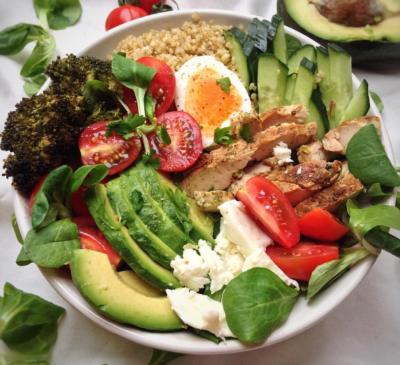 Diferentes tipos de ensaladas para bajar de peso